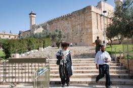قيادي : لن نسمح لاسرائيل بالمساس بالحرم الابراهيمي