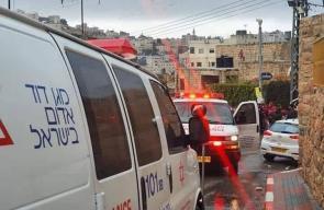 اصابة شاب برصاص الاحتلال بزعم تنفيذه عملية طعن في الخليل