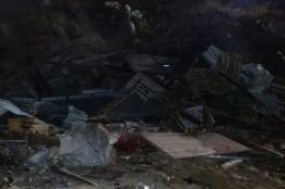 الاحتلال يهدم 6 منشآت تجارية في نعلين غرب رام الله