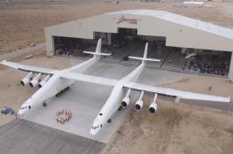 شاهد ...اميركا تنتج اكبر طائرة نقل بالعالم