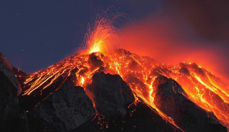 العلماء يكتشفون اكبر منطقة بركانية في أكثر الاماكن برودة في العالم