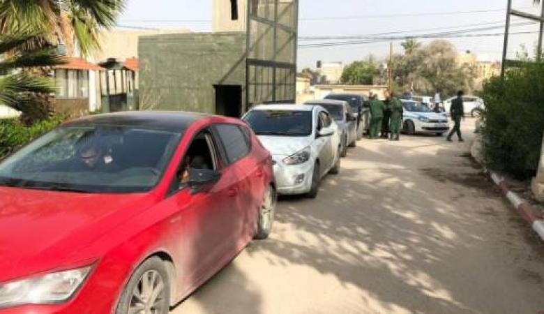 الشرطة: ضبط 35 مركبة مخالفة لحالة الطوارئ بنابلس