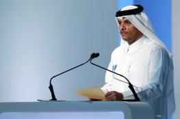 وزير خارجية قطر يصل لندن في اطار جولة اوروبية