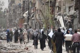 120 الف لاجئ فلسطيني غادروا سورية