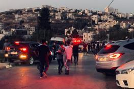 اصابات في هجوم للاحتلال على مسيرة في قرية رافات