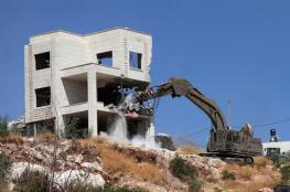 الشرطة الاسرائيلية تهدم 3 منازل بقرية بئر الحمام في النقب