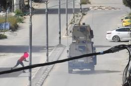 الاحتلال يقتحم بلدتي بيت فوريك وعزموط