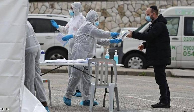 """كورونا في """"إسرائيل""""..10 حالات وفاة وأكثر من 3 آلاف إصابة"""