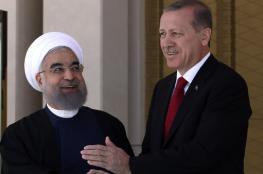 أردوغان يصل إلى طهران في زيارة رسمية