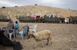 اسرائيل تسرق اراضي الفلسطينيين في الأغوار