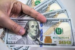 استمرار انخفاض سعر الدولار أمام الشيكل