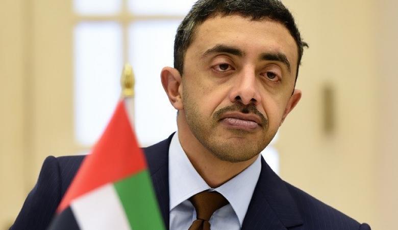 """عبد الله بن زايد: تطبيع العلاقات مع """"إسرائيل"""" """"انفراج كبير"""""""