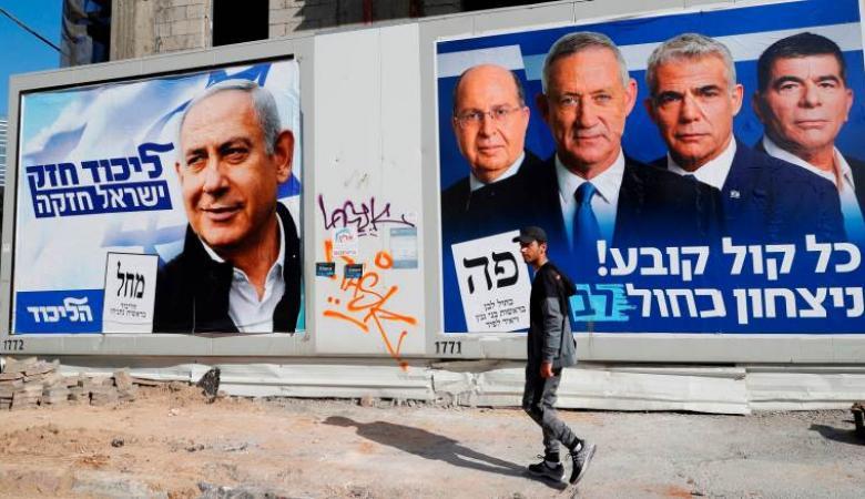 استطلاع رأي: غانتس يتقدم على نتنياهو والمشتركة 10 مقاعد