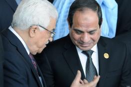 السيسي للرئيس : مصر ستبقى داعمة لفلسطين