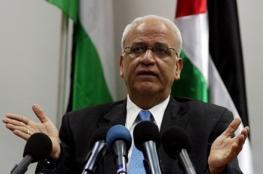 عريقات: القيادة والمجموعة العربية تدرسان امكانية التوجه لمجلس الأمن مجددا