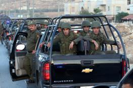 القبض على 14 مطلوبا للعدالة في نابلس
