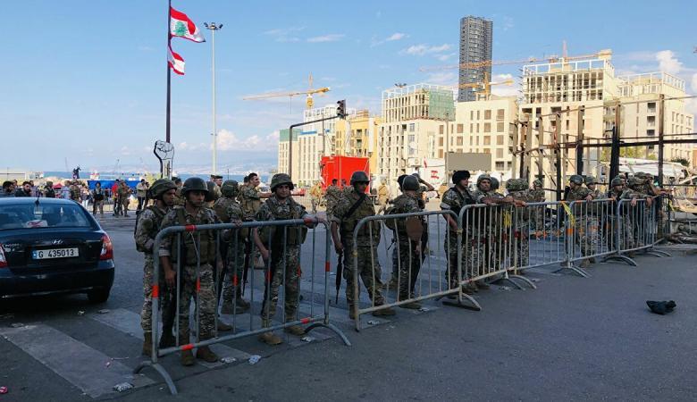 الجيش اللبناني يوجه دعوة للمواطنين بشأن التظاهرات وقطع الطرق