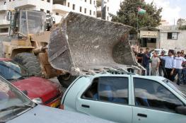 اتلاف 8 مركبات غير قانونية واعتقال 20 مطلوبا في رام الله