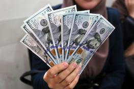 سعر صرف الدولار الأمريكي مقابل الشيكل