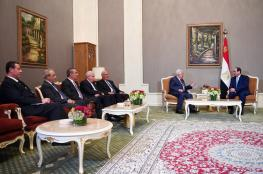 مباحثات بين الرئيس والسيسي في السعودية