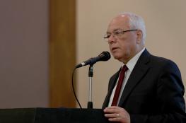 تشييع جثمان امين عام الرئاسة الفلسطينية في مصر
