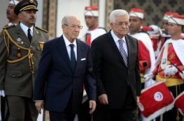 """الرئيس يصل تونس للمشاركة في تشييع جثمان """"السبسي """""""