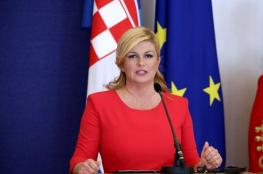 أول تعليق من رئيسة كرواتيا على خسارة لقب المونديال