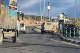 جندي إسرائيلي يدعي تعرضه لمحاولة دهس غرب سلفيت