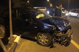 7 اصابات في حادث سير مروع بسلفيت
