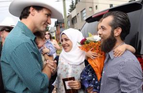 رئيس الوزراء الكندي يلتقي الرضيع السوري