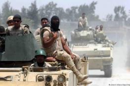 الامن المصري يقضي على 11 ارهابيا شمال سيناء