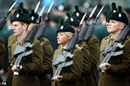 الجيش البريطاني يعيش  أكبر ازمة في العقد الأخير
