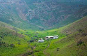 الطبيعة الخلابة في شرق نابلس