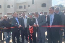 رام الله: افتتاح طريق المغير الشرقي بقيمة 300 ألف يورو