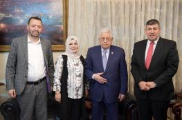 الرئيس يلتقي وفدا نيابا اردنيا برئاسة السعود