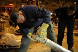القذائف الصاروخية تسقط من جديد على مستوطنات غلاف غزة