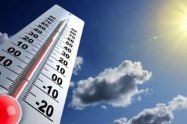 حالة الطقس: الحرارة أعلى من معدلها العام بـ5 درجات