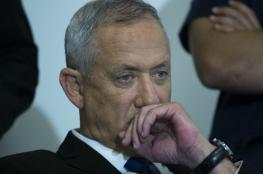 """غانتس يتهم نتنياهو برفض تشكيل حكومة وحدة في """"اسرائيل """""""