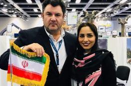 بالصور: لقاء غير مسبوق بين إيرانية وإسرائيلي في ألمانيا