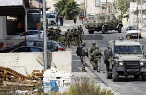 البيرة - مواجهات عنيفة بين الشبان وقوات الاحتلال بحي أم الشرايط