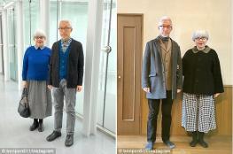 منذ 37 عامًا.. زوجان يرتديان ملابس متشابهة يومياً