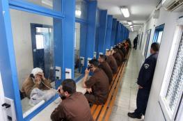 """الاحتلال يقرر وقف زيارات الأسرى الفلسطينيين بسبب """"كورونا"""""""