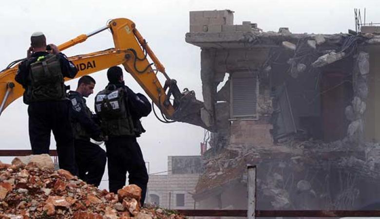 الخارجية: هدم المنازل جريمة حرب وفق الجنائية الدولية