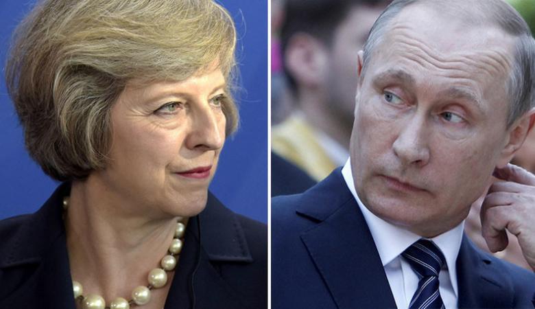 رئيسة وزراء بريطانيا تهاجم روسيا بحدة