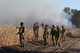 أطلقت من سوريا .. سقوط قذيفة صاروخية قرب موقع عسكري إسرائيلي بالجولان
