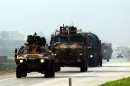 تركيا تواصل ارسال تعزيزات عسكرية الى الحدود مع سوريا