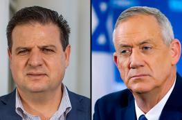 """""""المشتركة"""" ترفض الانضمام لحكومة """"وحدة"""" اسرائيلية"""