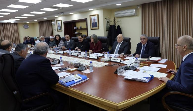 """مجلس الوزراء: تجميد تمويل """"الأونروا"""" ابتزاز مرفوض"""