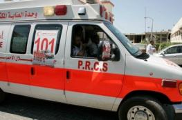 4 إصابات بحادث سير وسط غزة