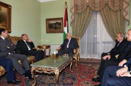 الرئيس يلتقي الأمين العام لجامعة الدول العربية في القاهرة